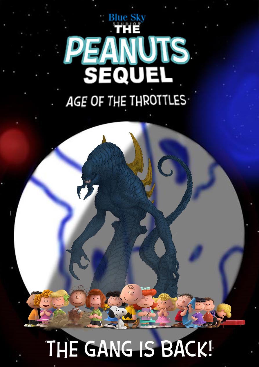 The peanuts sequel poster