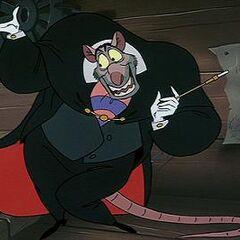 Mouse Professor Ratigan