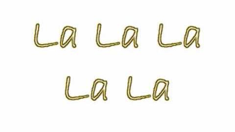 Ashlee Simpson - La La Lyrics