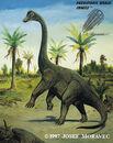 Brachiosaurus brancai - Jurassic dinosaur