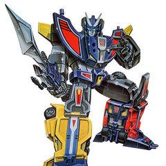 Autobot Powerlinx Speed Warrior Road Caesar