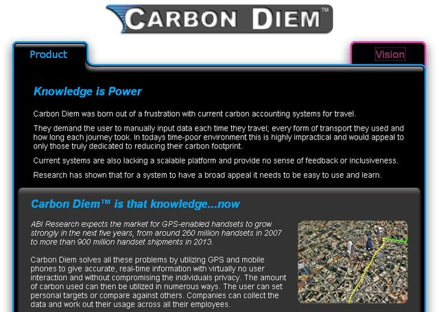 File:Carbon Hero project page screenshot.jpg