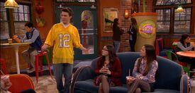 Garrett brags about his lucky football jersey