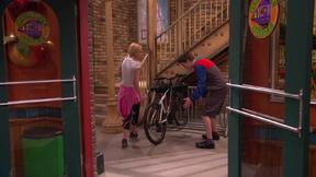 His bike is gone