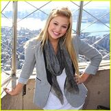 Olivia Holt in New York