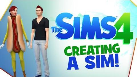 """""""A NEW BEGINNING"""" The Sims 4 - Creating a Sim!"""