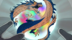 The dragon jade is activated