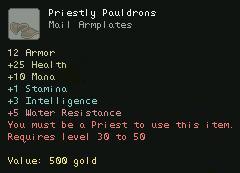 Priestly Pauldrons
