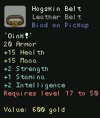 Hogskin Belt