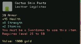 Cactus Skin Pants
