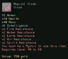 Magical Cloak