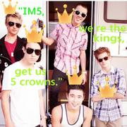 IM5 we're the kings get us 5 crowns