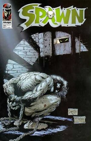 Cover for Spawn #56 (1996)