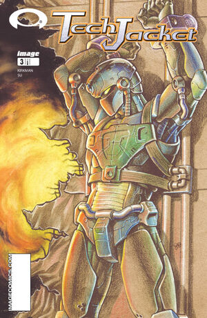 Cover for Tech Jacket #3 (2003)