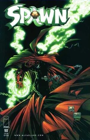 Cover for Spawn #90 (1999)