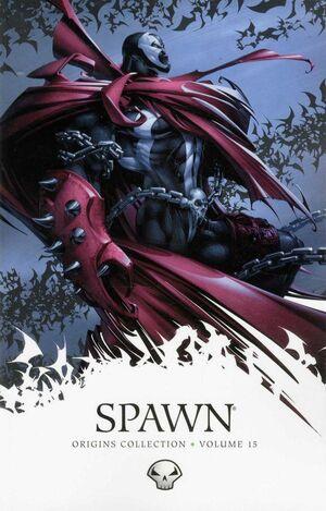 Cover for Spawn: Origins #15 (2012)