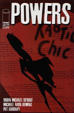 Cover for Powers #6 (2000)