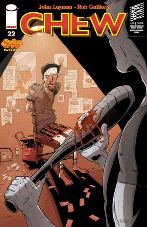 Cover for Chew #22 (2011)