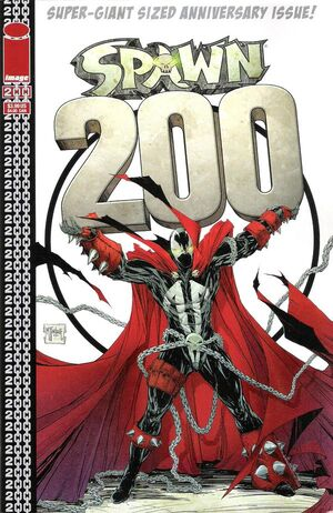 Cover for Spawn #200 (2011)