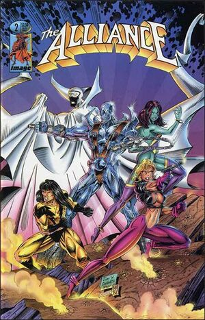 Cover for The Alliance #2 (1995)