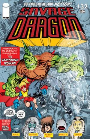 Cover for Savage Dragon #132 (2007)