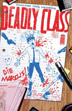 Cover for Deadly Class #9 (2014)