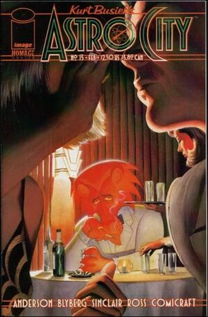 Cover for Astro City #13 (1998)