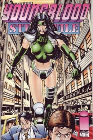Cover for Youngblood Strikefile #6 (1994)