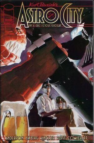 Cover for Astro City #4 (1996)