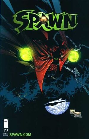 Cover for Spawn #102 (2001)