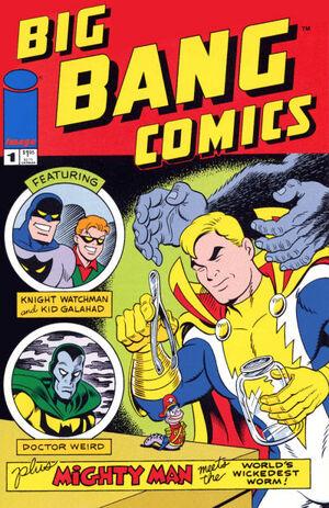 Cover for Big Bang Comics #1 (1996)