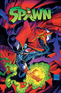 Spawn comic cover 001 cl
