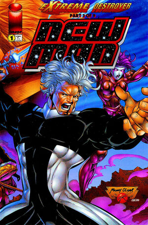 Cover for New Man #1 (1996)