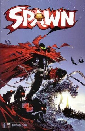 Cover for Spawn #110 (2001)