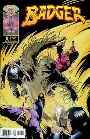 Cover for Badger #8 (1997)