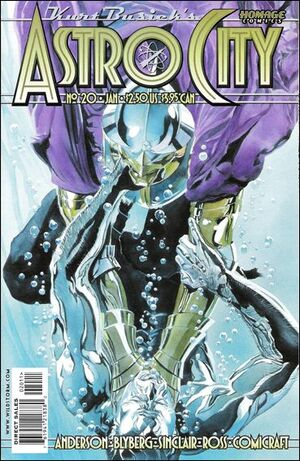 Cover for Astro City #20 (2000)