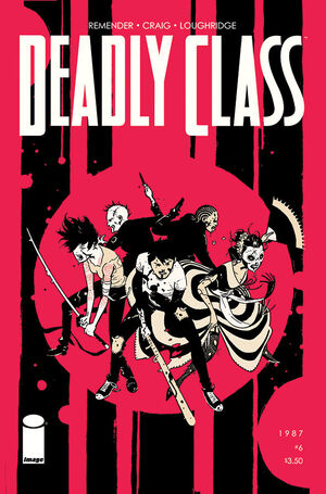 Cover for Deadly Class #6 (2014)