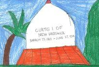 Curtis I's grave