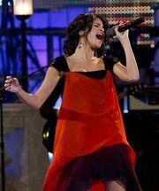Gavrina performing