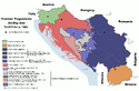 Map of war in Yugoslavia, 1995