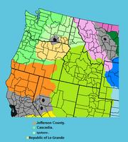 Cascadian sub devisions (TA62)