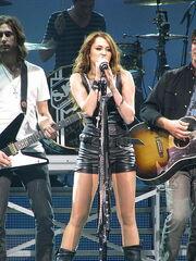 Tanya performing