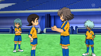 Shindou giving advice to Aoyama CS 35 HQ