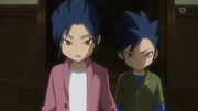Young Yuuchi and Young Kyousuke HD