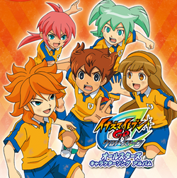Inazuma Eleven GO Chrono Stone All Stars Character Song Album Cover