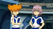 MinaMana agreeing with Shindou's idea of taking off Kusaka