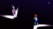 Tenma arguing with Tsurugi EP37 HQ