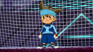 Shinsuke switched in for goalkeeper EP41 HQ