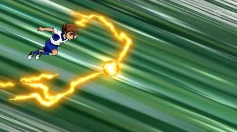 Inazuma Eleven GO Galaxy God Wind (ゴッドウィンド) HD