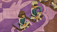 Shindou and Ibuki talking with Roglos EP29 HQ